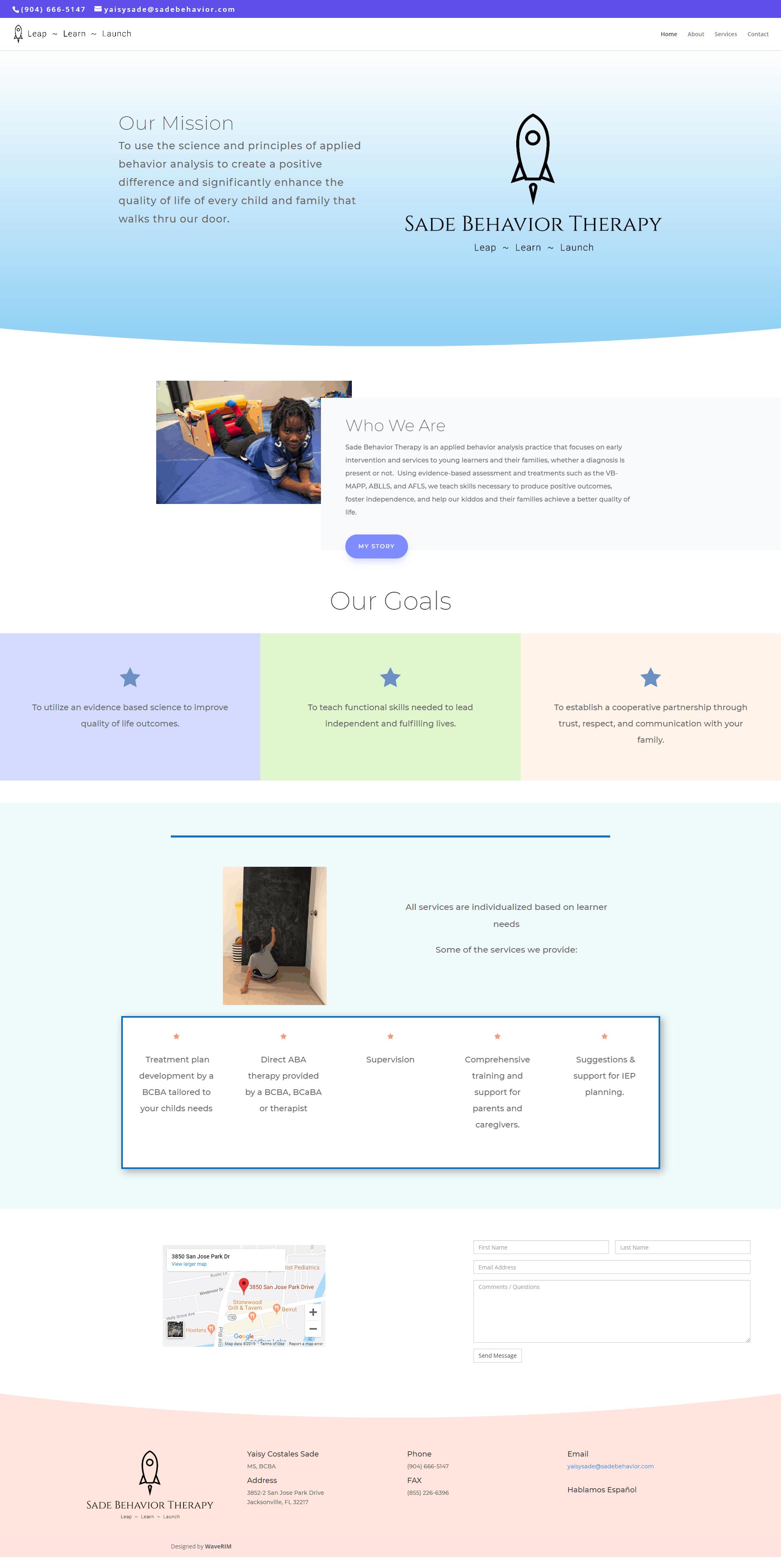 Emilios Pizza Website