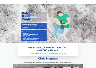 Behavioral Foundation Web Design
